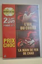 L oeil du cobra La main de fer Chao   dvd