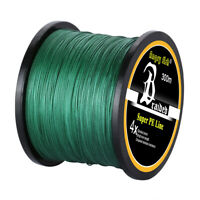 10-100LB Spectra Braided Fishing Line 4/8 STRANDS Super Extreme Saltwater GREEN