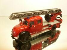 SIKU 4114 MAGIRUS DEUTZ LADDER TRUCK - FIRE ENGINE - RED 1:50 - VERY GOOD