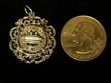 VINTAGE RMS QUEEN MARY SOLID STERLING SILVER CHARM PENDANT
