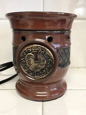 Scentsy Tuscona Collection AIA Electric Full Size Bar Wax Melt Warmer Rooster