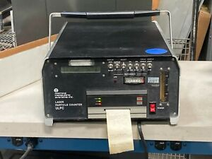 PMS Particle Measuring Systems Laser Particle Counter ULPC with Manual
