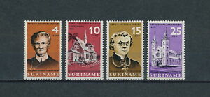 Suriname  333-6 MNH, Redemptorist Mission, 1966