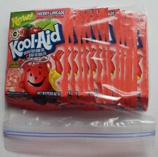 20 packets of KOOL-AID drink mix: CHERRY LIMEADE flavor, powdered, UNSWEETENED