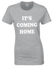 Su Coming Home Camiseta Mujer Balones de Fútbol Mundial Inglaterra