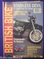 BRITISH BIKE - STAINLESS DEVIL - April 1994 #79