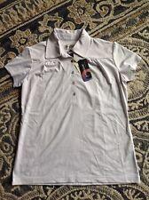 Nwt Women's Sport Haley White Golf Shirt Medium Super Soft! Msrp $72