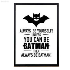 F1B1 30x40cm Batman Designed Knight Vintage Movie Poster Art Print Black Card*