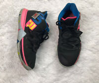 Nike Kyrie 5 Just Do It Shoes Black/Volt Hyper Pink Size 7Y/Womens 8.5 AQ2456