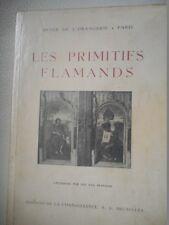 LES PRIMITIFS FLAMANDS - CATALOGUE D'EXPOSITION