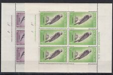New Zealand 1961 Birds Health Blocks of 6 Inscription SG806/807 MNH X9831