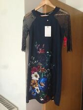 Ladies Little Mistress BNWT Size 8 Navy/floral Dress