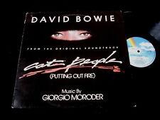 DAVID BOWIE/CAT PEOPLE/GIORGIO MORODER/MAXI 45T/UK PRESS