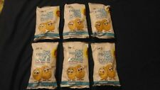 (6) Bag Lot One Potato Two Potato Kettle Potato Chips Naked Sea Salt 5 Oz Each