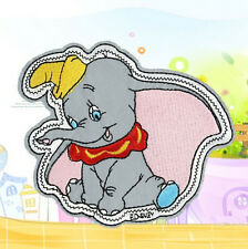 Flying Elephant DIY Embroidery Cloth Iron On Patch Sew Motif Applique x1