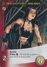X-23 Upper Deck Marvel Legendary X-MEN BIOENGINEERED ASSASSIN
