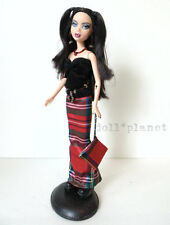 OOAK MY SCENE BARBIE DOLL repaint GOTH NOLEE w/Fashion Black Boots & Hair +Stand