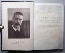 J. WAGNER v. JAUREGG: FESTSCHRIFT/ JAHRBÜCHER FÜR PSYCHIATRIE u. NEUROLOGIE 1914
