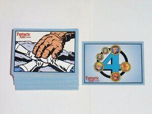 2008 Marvel Fantastic Four Archives COMPLETE 72 BASE CARD SET NM/M! JACK KIRBY!