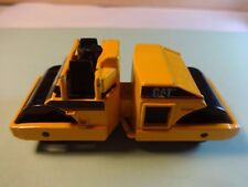 Matchbox Yellow CAT Road Roller from Dirt Machines & Road Pavers Set - Loose