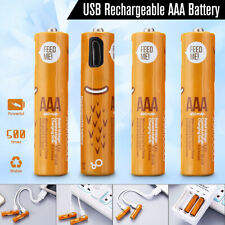4 x AAA 1.2V 450mAh SMARTOOOLS Rechargeable Ni-Mh Battery Micro USB   ❤