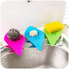 Silikon Blatt Seifenablage Seifenschale-Platte Badezimmer Seifenhalter Zufällig!