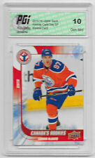 2015-16 Connor McDavid Upper Deck Hockey Day SP Rookie Card #6 PGI 10 Oilers