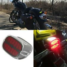 SPL Pair 2 Bullet Style Tail Rear Brake Light LED Turn Signal Kit with 1157 Base for Harley Honda Yamaha Motorcycles