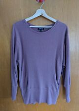 express rose pink soft oversized sweater size small