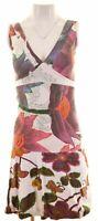 DESIGUAL Womens A-Line Dress Size 6 XS Multicoloured Cotton  JZ18