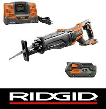 RIDGID 18 V VOLT GEN5X RECIPROCATING SAW SAWZALL w/ BATTERY & CHARGER KIT R8642