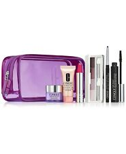 Clinique Eyeshadow Quad,All About Eye,Mascara,DDM Lotion,Lipstick& More gift set