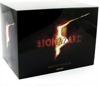 Biohazard 5 Limited Edition PS 3 Capcom Resident Evil Complete with accessories