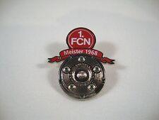 """Pin 1. FC Nürnberg """"Meister 1968"""" DFL Deutscher Meister FCN 1.FCN Der Club"""
