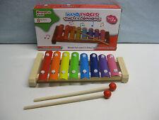 xylophone bois et metal instrument musique enfant + 3 ans jouet éveil musical