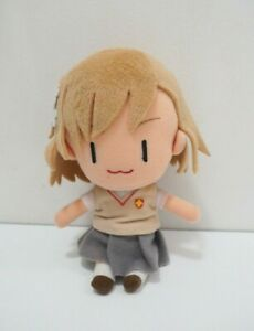 "Toaru Kagaku no index Misaka Mikoto SK Japan 7"" Plush Stuffed Toy Doll"