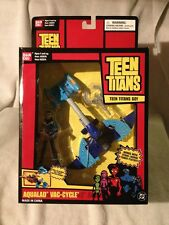 Teen Titans! 2004 Aqualad Vac Cycle -Misb -Figure+Vehicle Original Vhtf