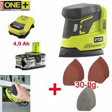 RYOBI 18 V ONE + batterie DELTA bouge Triangle Meuleuse r18ps-0 CCC 1801 +4,0 Ah