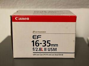 Canon EF 16-35 mm F/2.8 L II USM Objektiv