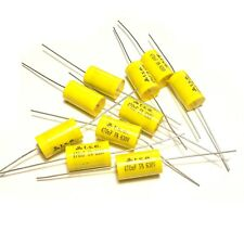 10x Capacitor 0.47uF 470nF 5% 630V Polypropylene Axial Valve Metal Film UK