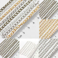 Ring Link Chain Tail Extender Jewelry Making Accessory Necklace Bracelet Craft