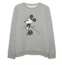 Disney NEW Official Minnie Mouse Jumper Sweatshirt XS Extra Small Christmas
