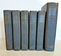 6 Antique Books Written by Theodore Roosevelt - 1920 Editions - Scribner's