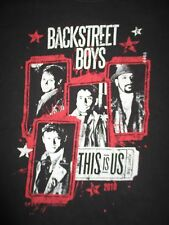 "2010 BACKSTREET BOYS ""This Is US"" Concert Tour (MED) T-Shirt"