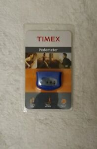 Timex Pedometer, Blue, Miles or Kilometers, T5E001 M8 Count Your Steps Walk Run