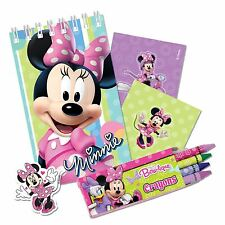 Disney Minnie Mouse 20pcs Birthday Party Stationary Gift Pack Set Favour Girls