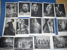 9788 Oberammergau  14 v 15 vers Ansichtskarten Serie Jubilä. Passionsspiele 1934