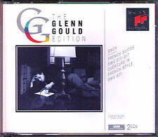 Glenn Gould: Bach French Suite 1-6 BWV 812-817 Overture (partita) 831 Sony 2cd