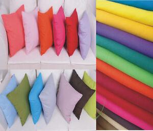100%Cotton Pillow Cushion Cover  40X40 45x45 50 X50 55x55 60x60 65X65 70X70 CM