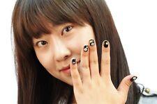 3D Nail Art Sticker 15 sheets NEW stylish Korean Design